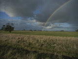 Rainbow over Fields at Kangaroo Island
