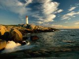 Scenic View of the Rocky Coastline Near Peggys Cove