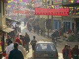 A Street Scene in Kathmandu