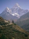 Ama Dablam and its Minor Peak