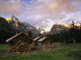 The Elizabeth Parker Hut  a Log Cabin in Yoho National Park