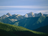 A Scenic View of the Rocky Mountains in Yoho National Park