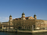 A View of Ellis Island