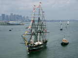 The USS Constitution after a Four-Year Restoration