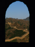View of the Great Wall Through a Window