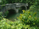 A Stone Bridge Crosses the Headwaters of the Susquehanna River
