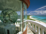 Lens in the Lighthouse Tower at South End of Cozumel