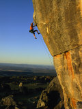 Todd Skinner Climbs a Large Rock Face at the Rocklands