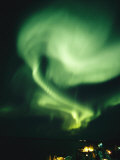 Brilliant Display of Auroral Lights
