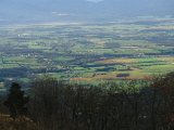 View of Stanley and Shenandoah Valley from the Skyline Drive
