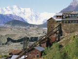 Mount Blackburn Looms above Kennicott Mines