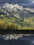 Mount Wilson and the San Juan Mountains Casting Reflections in a Lake