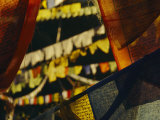 Colorful Hanging Buddhist Prayer Flags