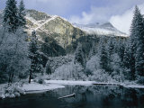 A Winter View of the Merced River