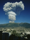 The Eruption of Guagua Pichincha on October 7  1999  the Volcano Rises 15 728 Feet