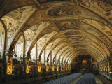 A View of the Antiquarium in the Residenz Palace in Munich