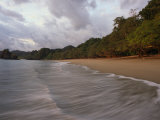 The Surf Upon the Beach in Manuel Antonio National Park in Costa Rica