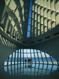 A View of the Inside of the Milwaukee Art Museum