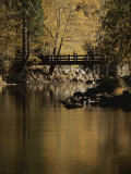 Footbridge over the Merced River