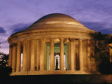 A Twilight View of the Jefferson Memorial
