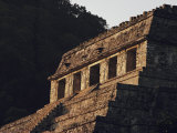 A Close View of a Pyramid at Palenque