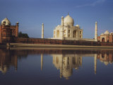 View of the Taj Mahal
