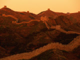 Twilight View of the Great Wall