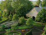 View of Barn and Grounds of Ashford Stud  a Prestigious Horse Farm