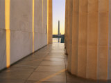 Washington Monument Seen from Inside the Lincoln Memorial