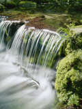 Close View of a Small Waterfall on Fern Creek