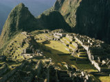 Elevated View of Machu Picchu
