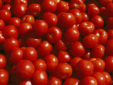 Close-up of Tomatoes at a Market in Helsinki