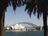 A View of the Sydney Opera House and Harbour Bridge