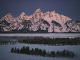 Winter View of the Teton Range