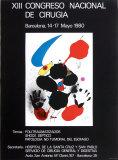 XIII Congreso Nacional de Cirugia 1980