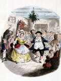 Illustration from Charles Dickens&#39; &quot;A Christmas Carol&quot;