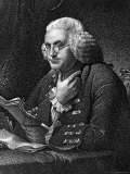 Engraving of Benjamin Franklin  American Philosopher  Author and Scientist