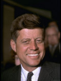 John F Kennedy Attending the Democratic National Convention