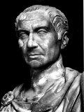 Head of Statue of Julius Caesar  Roman General and Statesman