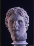 Hellenic Sculpture of Alexander the Great from the Musee D'Antiquities de Stambul
