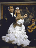 Flamenco Dancer Maria Albaicin Performing with Partner