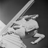 "Sculpture by Joseph Reiner Entitled ""Speed"" at the 1939 World's Fair in New York"