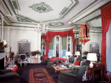 Living Room of the Vertes Suite  Decorated by Lady Mendl  at the Plaza Hotel