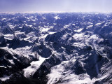 Aerial View of the Himalayas