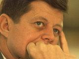 President Kennedy in Pensive Portrait