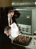 IBM Electronic Data Processing Machine  Type 704  Solving Chess Problems with a Data Processor