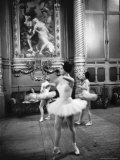 Ballerinas at the Paris Opera in Rehearsal in the House