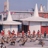 Masai Tribesmen Performing Ritual Dance at the 1964 World&#39;s Fair