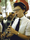 Girl Playing Clarinet at Iowa State Fair