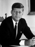 Presidential Candidate John F Kennedy in His Office After Being Nominated at Democratic Convention